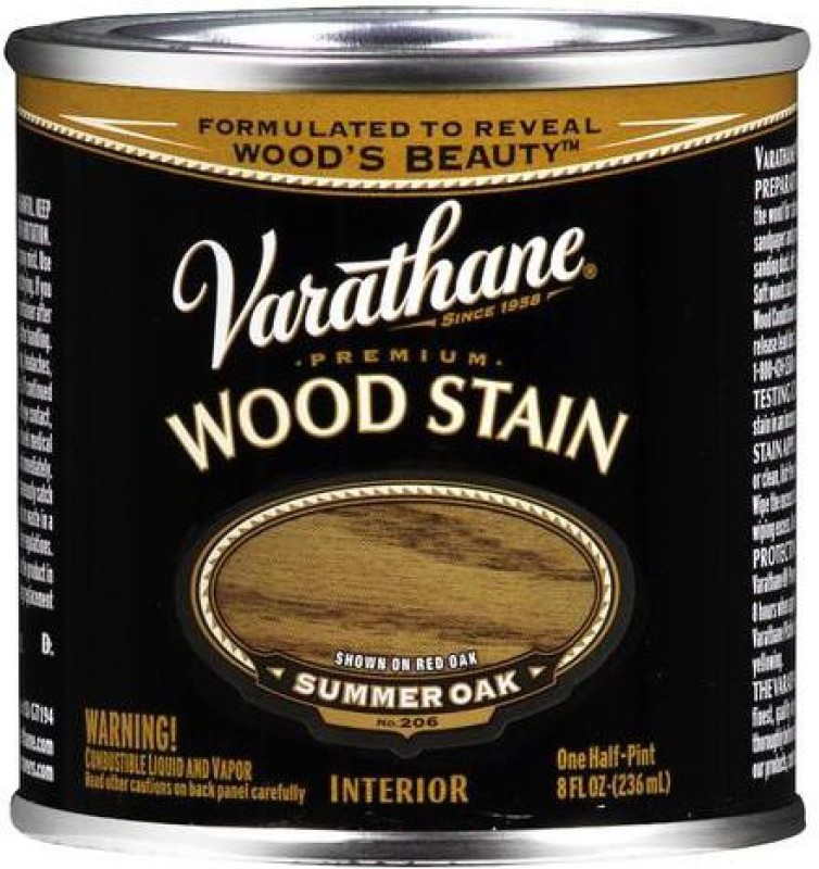 Varathane Summer Oak Oil Stain Wood Stain(236 ml)