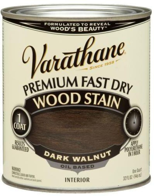 Varathane Dark Walnut Oil Stain Wood Stain(946 ml)