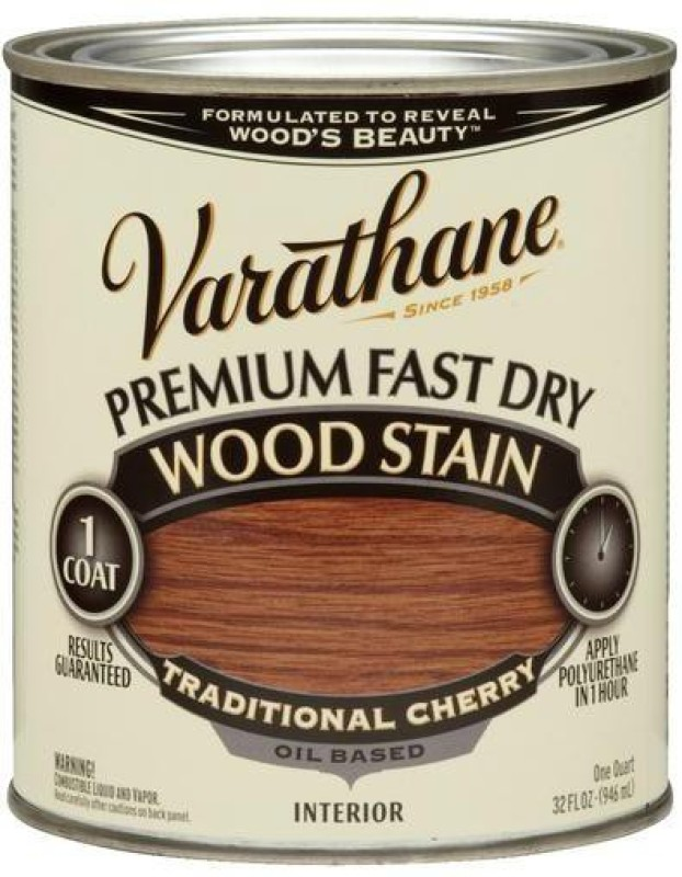 Varathane Traditional Cherry Oil Stain Wood Stain(946 ml)