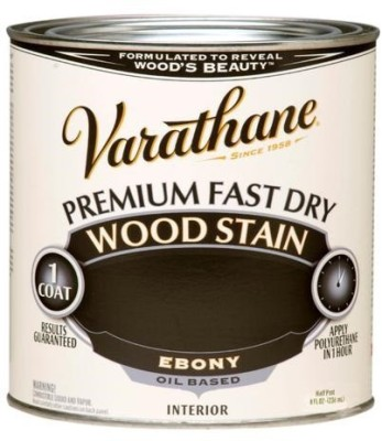 Varathane Ebony Oil Stain Wood Stain