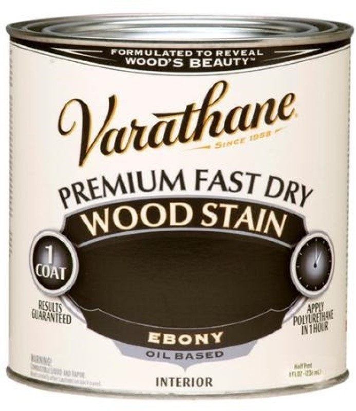 Varathane Ebony Oil Stain Wood Stain(236 ml)
