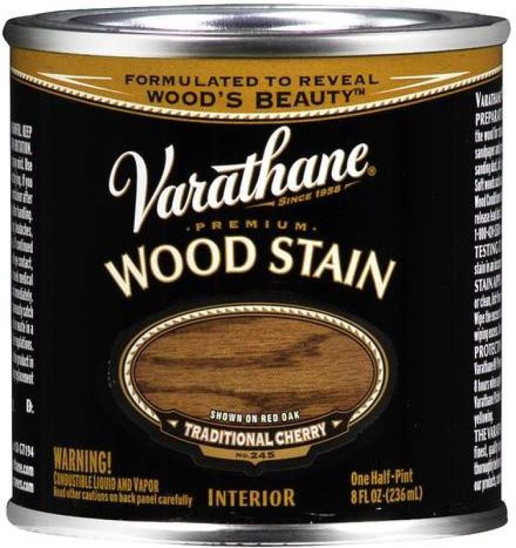 Varathane Traditional Cherry Oil Stain Wood Stain(236 ml)