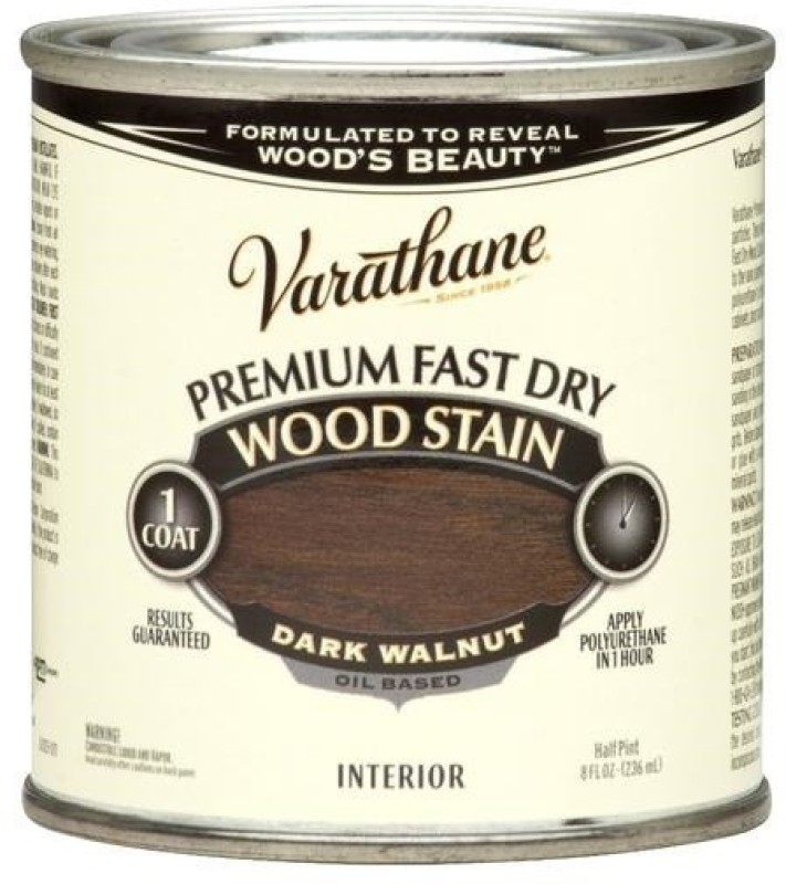 Varathane Dark Walnut Oil Stain Wood Stain(236 ml)