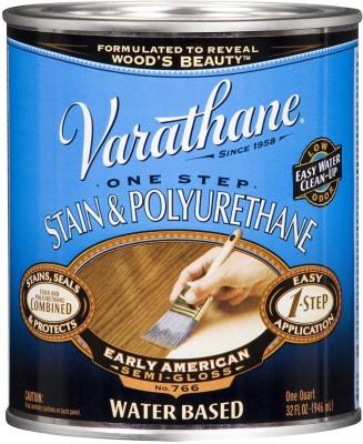 Varathane 239586H Semi Gloss, Early American, Water Based Wood Varnish