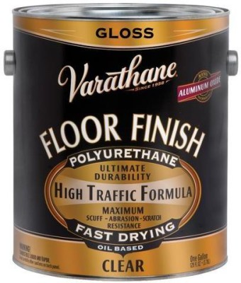Varathane 130031 Gloss, Clear, Oil Based, Floor Finish Wood Varnish