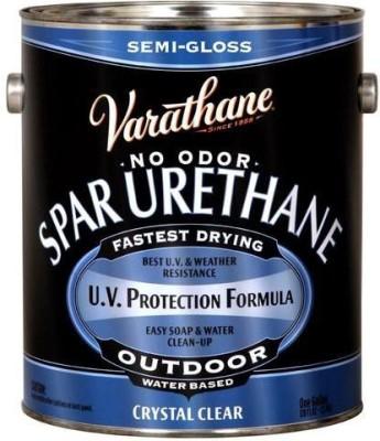 Varathane 250131 Semi Gloss, Clear, Water Based Wood Varnish