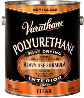 Varathane 6031 Semi Gloss, Clear, Oil Based Wood Varnish