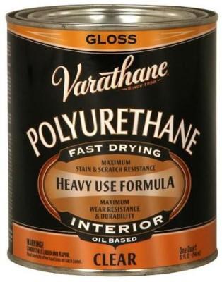 Varathane 9041H Gloss, Clear, Oil Based Wood Varnish