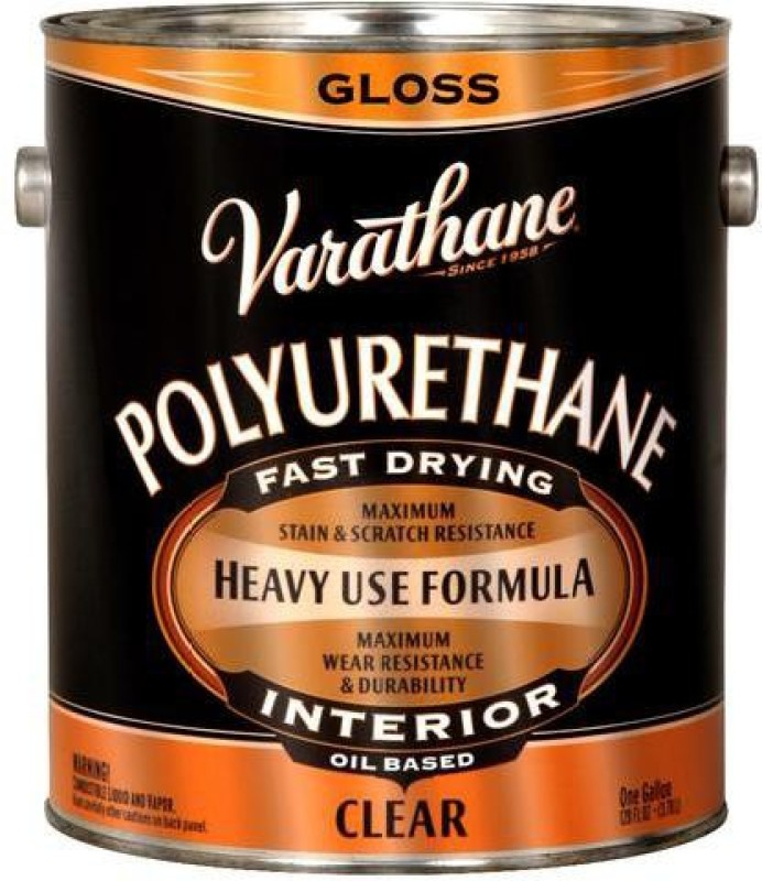 Varathane 9031 Gloss, Clear, Oil Based Wood Varnish(Polyurethane 3.78 L)
