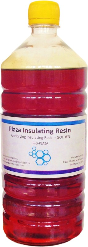 PLAZA Insulating Resin Golden Wood Varnish(Resin 1 L)