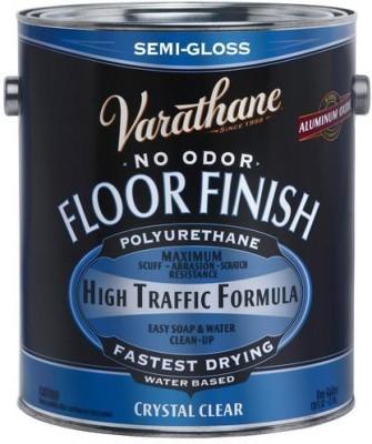 Varathane 230131 Semi Gloss, Clear, Water Based, Floor Finish Wood Varnish