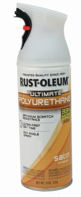 Rust-Oleum 260313 Satin Wood Varnish(Polyurethane 312 ml)