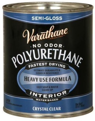 Varathane 200141H Semi Gloss, Clear, Water Based Wood Varnish
