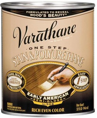 Varathane 225249H Semi Gloss, Early American, Oil Based Wood Varnish