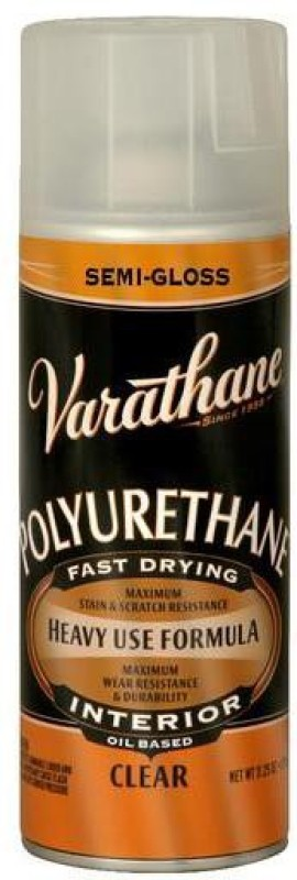 Varathane 6081 Semi Gloss, Clear, Oil Based Wood Varnish(Polyurethane 319 ml)