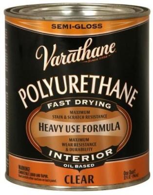 Varathane 6041H Semi Gloss, Clear, Oil Based Wood Varnish