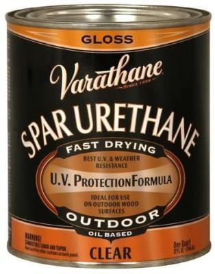 Varathane 9241H Gloss, Clear, Oil Based Wood Varnish