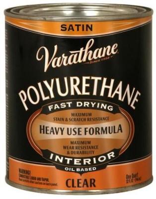 Varathane 9141H Satin, Clear, Oil Based Wood Varnish