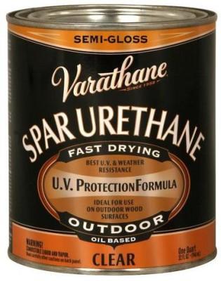 Varathane 9441H Semi Gloss, Clear, Oil Based Wood Varnish