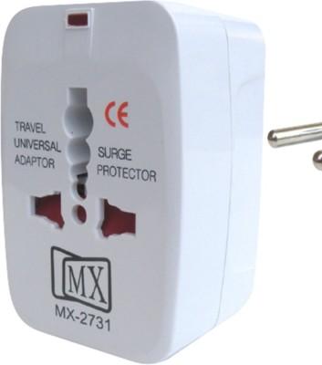 MX Multiplug Universal Worldwide Adaptor(Mily white)
