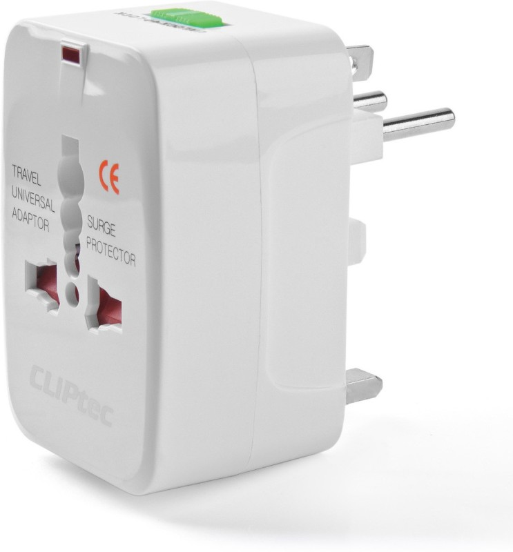 Cliptec GZJ130WH Worldwide Adaptor(White)