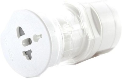 Dealcrox White round Worldwide Adaptor