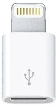Roboster Lightning 8pin To MicroUSB Charger Worldwide Adaptor(White) at flipkart
