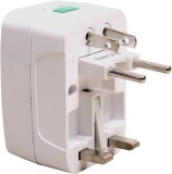 JM Universal Worldwide Adaptor (White)