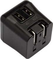 Targus Dual USB 2.1 AMP Worldwide Adaptor(Black, White) best price on Flipkart @ Rs. 1486