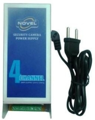 Novel 4 Channel Power Supply For Any Cctv Worldwide Adaptor