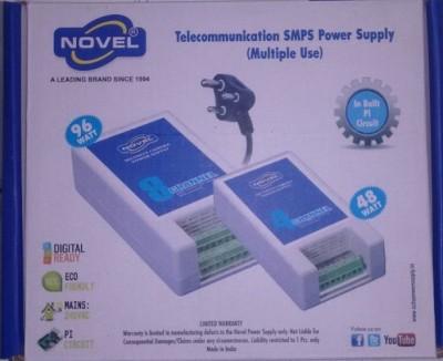Novel 4 Channel Power Supply For Any Cctv Worldwide Adaptor(WHITE)