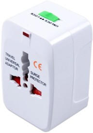 Kensonic all in one Worldwide Adaptor(White)