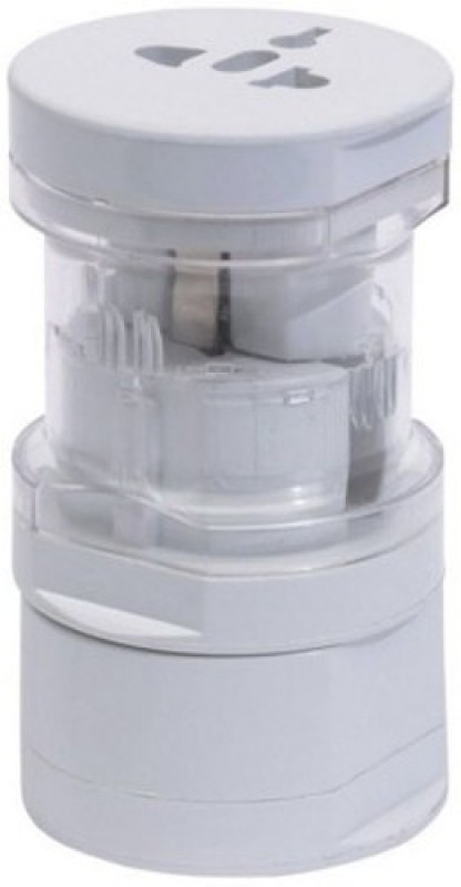 Star Magic Round Multi Worldwide Adaptor(White)