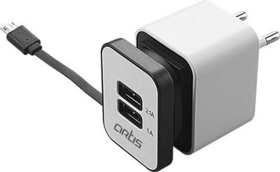 Artis U300 2 USB PORT DUAL USB WALL CHARGER/ Worldwide Adaptor