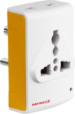Norwood Mobilio 3 pin Multiplug Worldwide Adaptor
