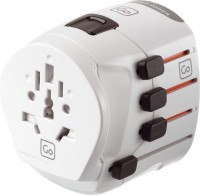 Go Travel Travel plug - Earthed Worldwide Adaptor(White) best price on Flipkart @ Rs. 5139
