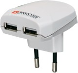 S-Kross Euro USB Worldwide Adaptor (Whit...