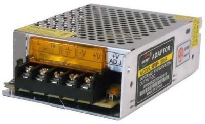 Tech Gear Cctv Camera Power Supply Worldwide Adaptor(Black, orange)