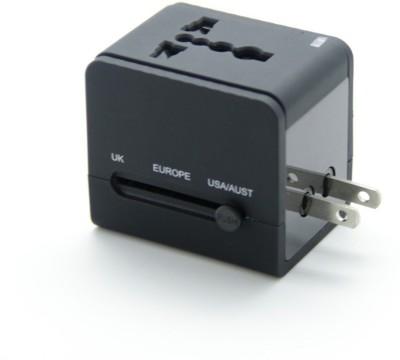 Storite 2 USB International All in One Universal Travel Plug Worldwide Adaptor