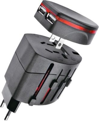 JM Universal Worldwide Adaptor(Black)