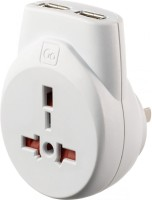 Go Travel Transworld USB Worldwide Adaptor(White) best price on Flipkart @ Rs. 2232