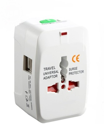 99Gems Universal Dual USB Worldwide Adaptor