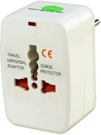 MSE Universal Three Pin-WS01 Worldwide Adaptor(White)