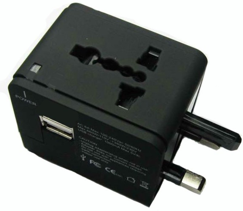 Star Magic Usb Worldwide Adaptor(Black)