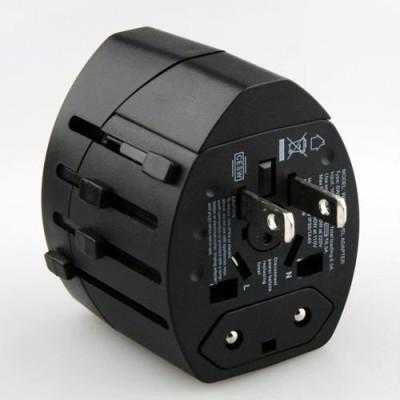 Pia International Dual USB Worldwide Adaptor