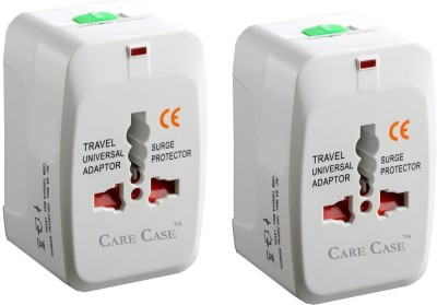 Care Case Pack Of 2-Travel Universal (AU EU UK US) Good Quality Worldwide Adaptor
