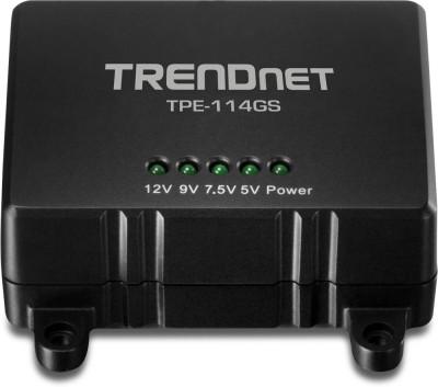 Trendnet POE Gigabit Splitter (Power Over Ethernet) Worldwide Adaptor