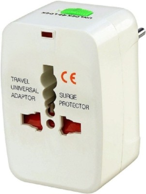 TNT Universal Multiplug ( US/ Europe/ Africa/ Asia) Worldwide Adaptor