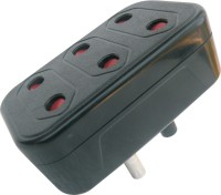 MX Conversion plug 2Pin X 3 Sockets - Set of 3 Worldwide Adaptor best price on Flipkart @ Rs. 149