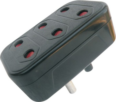 MX Conversion plug 2Pin X 3 Sockets - Set of 3 Worldwide Adaptor